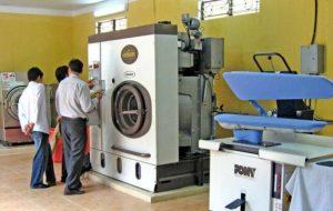 máy giặt công nghệp bãi