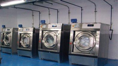 máy giặt và máy sấy quần áo công nghiệp
