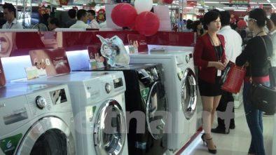 máy giặt bán tự động